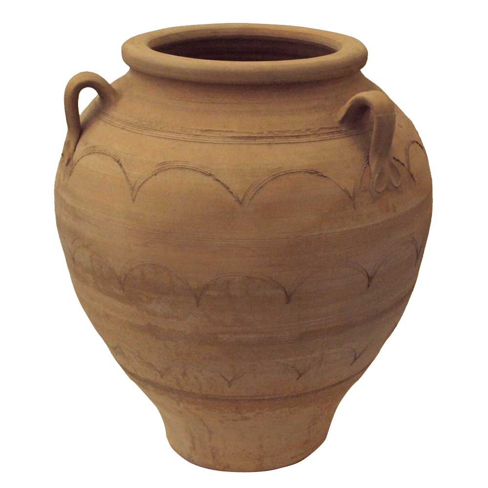 Greek Terracota Oil Jar