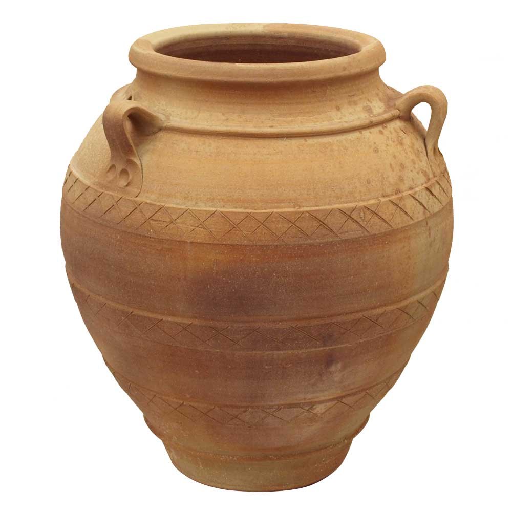 Festos Oil Jar With Handles- Eye Of The Day