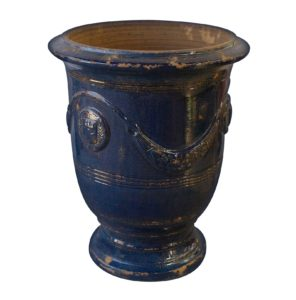 Vase Anduze Bleu Vieilli