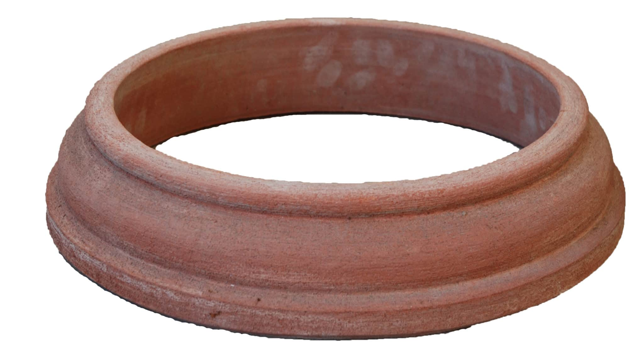 Italian Terracotta Ciotola Pot Base