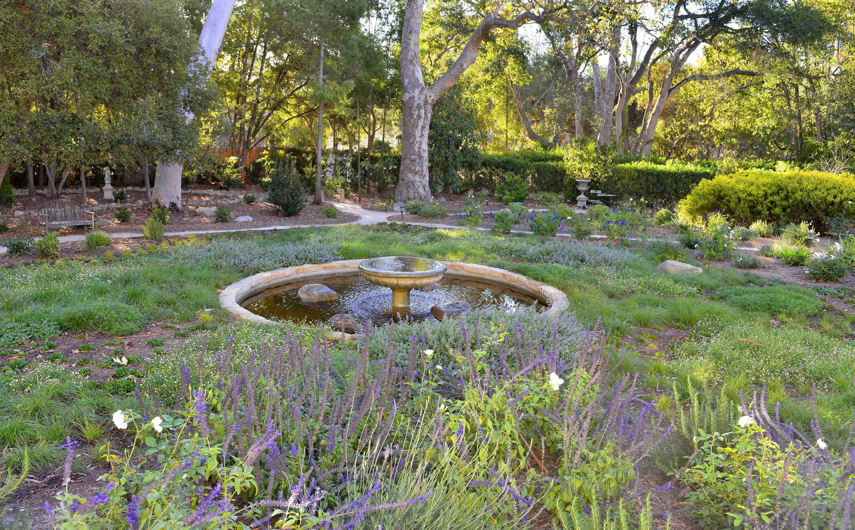 Montecito Landscape Garden Design - The Cullen Meadow ...
